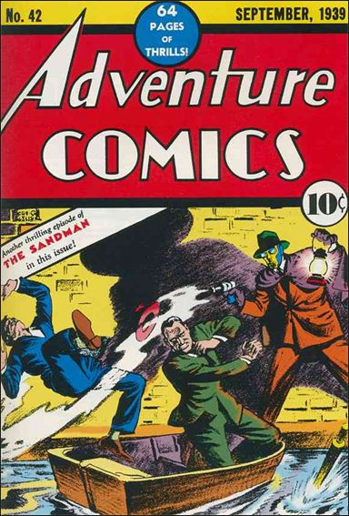 Adventure Comics (1938) 42-A by DC