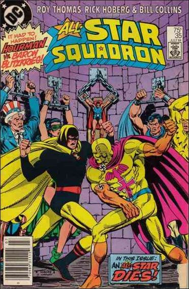 All-Star Squadron 35-A by DC