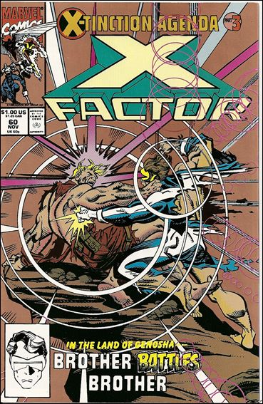 X-Factor (1986) 60-B by Marvel