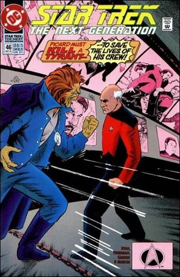 Star Trek: The Next Generation (1989) 46-A by DC