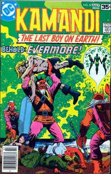 Kamandi, the Last Boy on Earth 57-A by DC