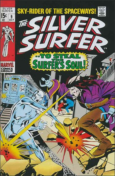 Silver Surfer (1968) 9-A by Marvel