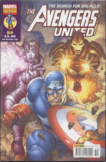 Avengers United (UK) 59-A by Marvel UK
