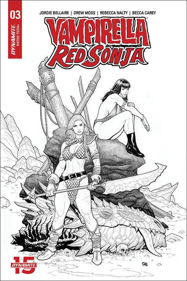 Vampirella / Red Sonja 3-K by Dynamite Entertainment