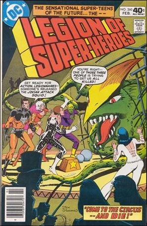 Legion of Super-Heroes (1980) 260-A