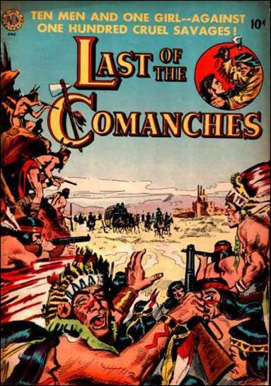 Last of the Comanches 1-A by Avon