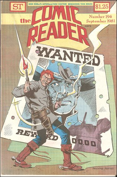 Comic Reader 194-A by Street Enterprises