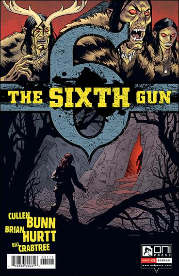 Sixth Gun 31-A by Oni Press