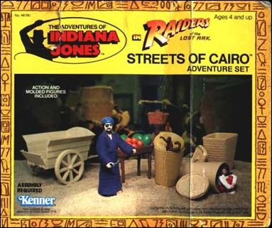 Adventures of Indiana Jones Vehicles and Playsets Streets of Cairo Adventure Playset by Kenner
