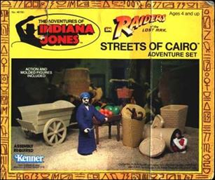 Adventures of Indiana Jones Vehicles and Playsets Streets of Cairo Adventure Playset