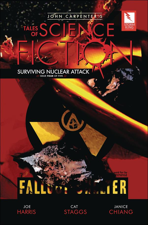 John Carpenter's Tales of Science Fiction: Surviving Nuclear Attack 4-A by Storm King Comics