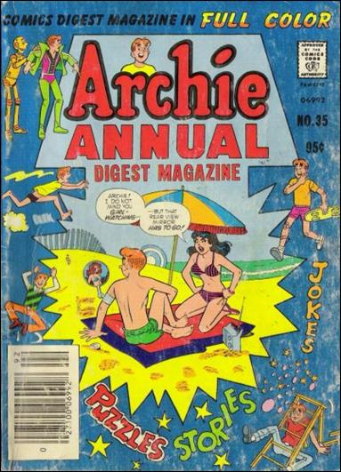 Archie Annual Digest Magazine 35-A by Archie