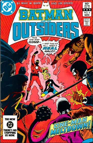 Batman and the Outsiders (1983) 4-A by DC