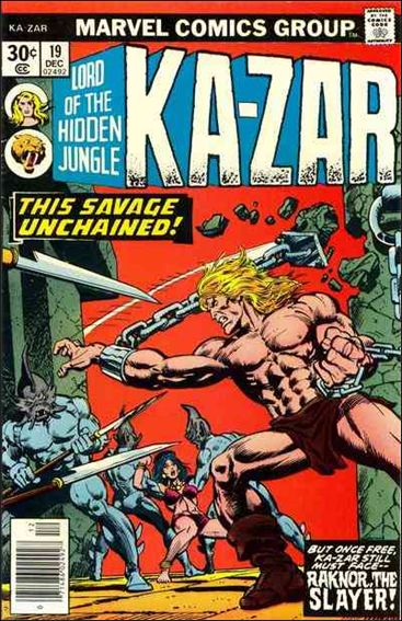 Ka-Zar (1974) 19-A by Marvel