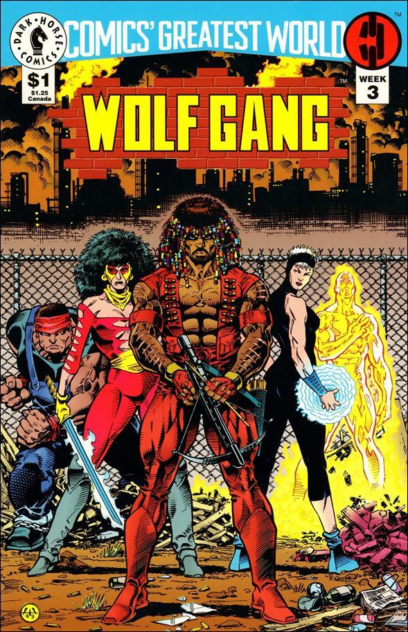 Comics' Greatest World: Steel Harbor 3-A by Dark Horse
