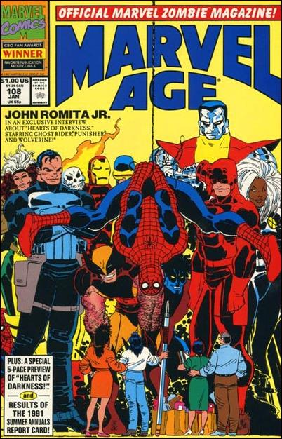Marvel Age 108-A by Marvel