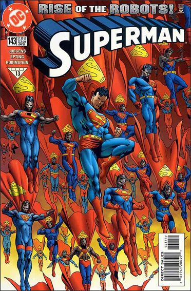 Superman (1987) 143-A by DC