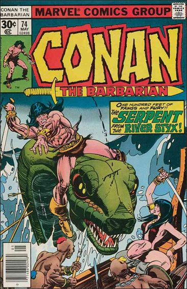 Conan the Barbarian (1970) 74-A by Marvel