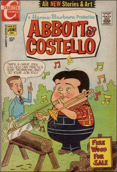 Abbott and Costello (1968) 21-A by Charlton