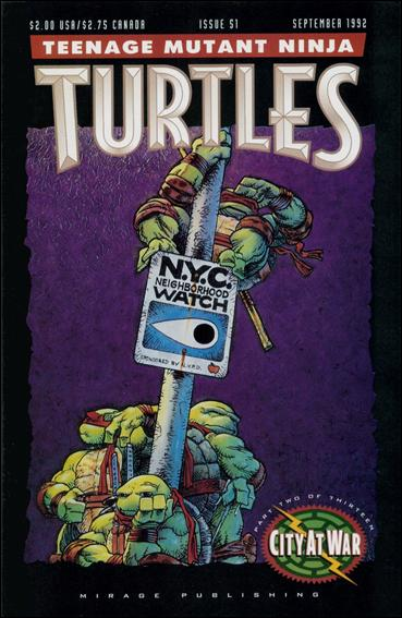 Teenage Mutant Ninja Turtles (1984) 51-A by Mirage