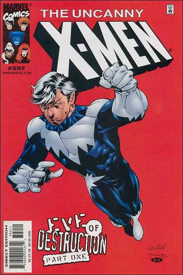 Uncanny X-Men (1981) 392-A by Marvel