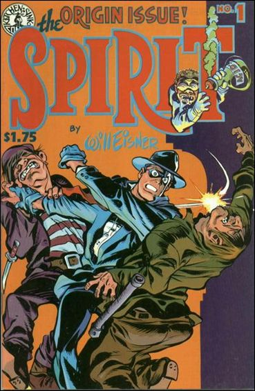 Spirit (1983) 1-A by Kitchen Sink
