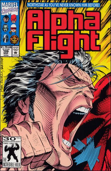 Alpha Flight (1983) 106-A by Marvel