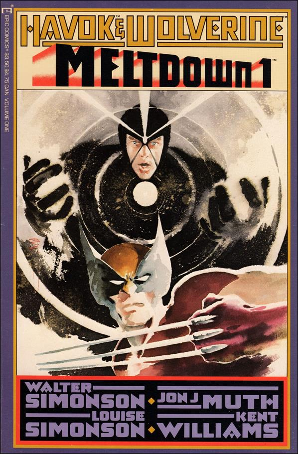 Havok & Wolverine: Meltdown 1-A by Epic