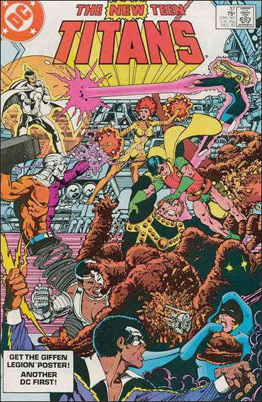 New Teen Titans (1980) 37-A by DC