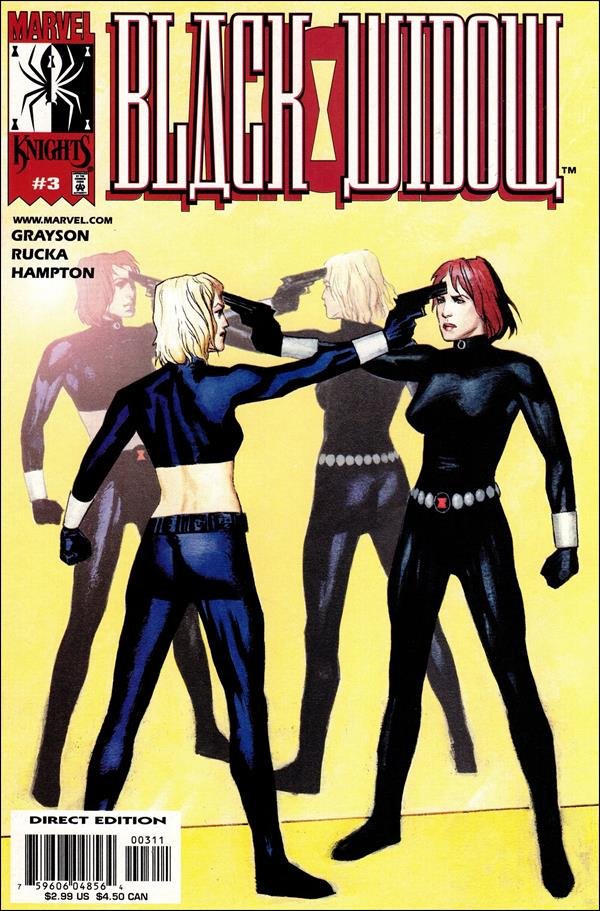 Black Widow (2001) 3-A by Marvel