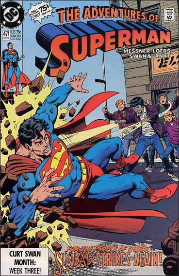 Adventures of Superman (1987) 471-A by DC