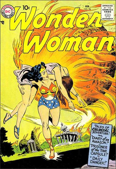 Wonder Woman (1942) 96-A by DC