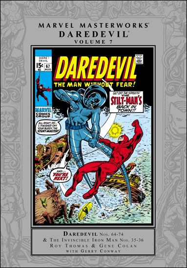 Marvel Masterworks: Daredevil 7-A by Marvel