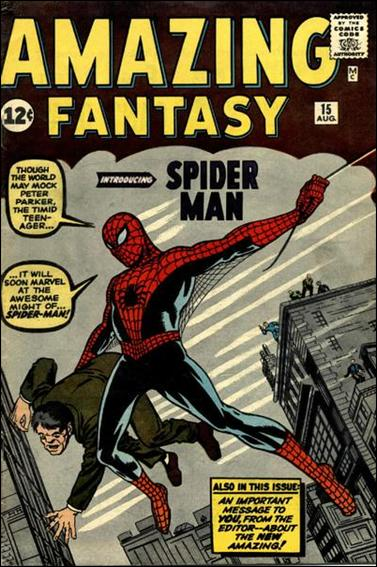 Amazing Fantasy (1962) 15-A by Marvel