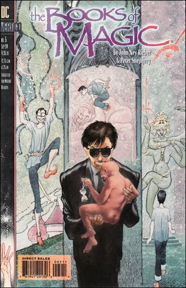 Books of Magic (1994) 5-A by Vertigo