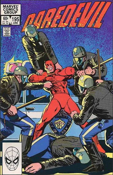 Daredevil (1964) 195-A by Marvel