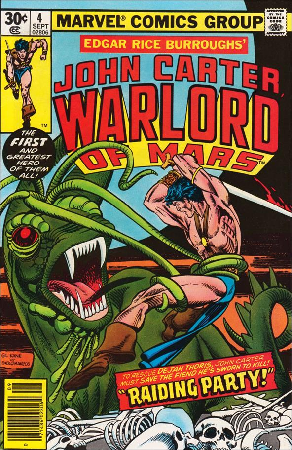John Carter, Warlord of Mars 4-A by Marvel
