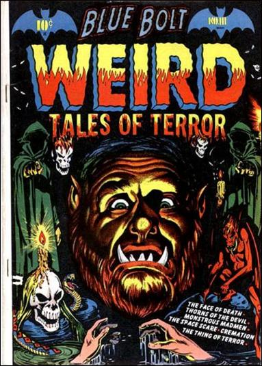 Blue Bolt Weird Tales of Terror 111-A by Star Publications