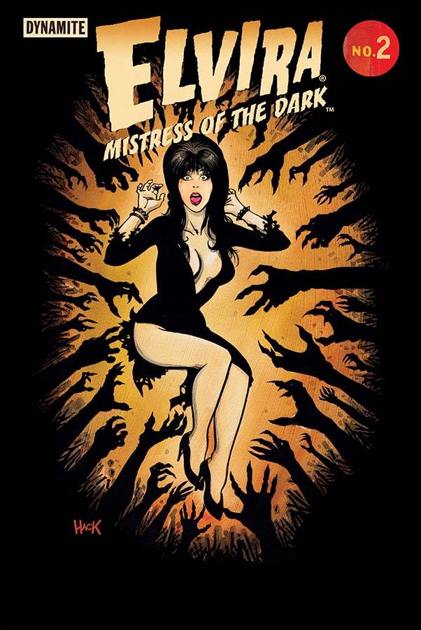 Elvira, Mistress of the Dark (2018) 2-C by Dynamite Entertainment