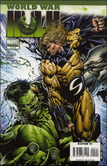 World War Hulk 5-A by Marvel