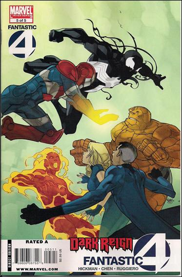 Dark Reign: Fantastic Four 5-A by Marvel