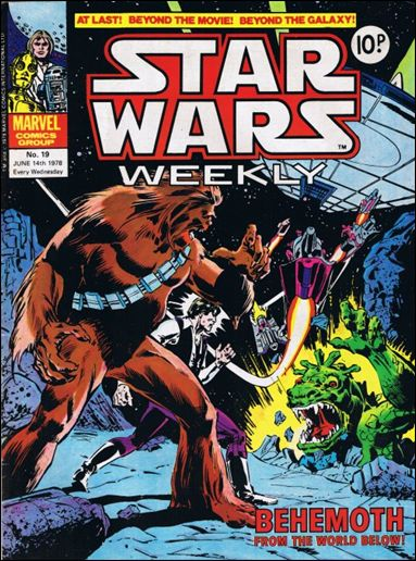 Star Wars Weekly (UK) 19-A by Marvel UK