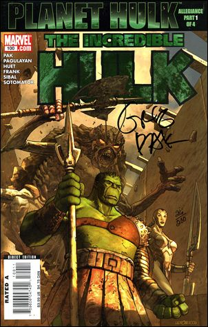 Incredible Hulk (2000)  100-D by Marvel