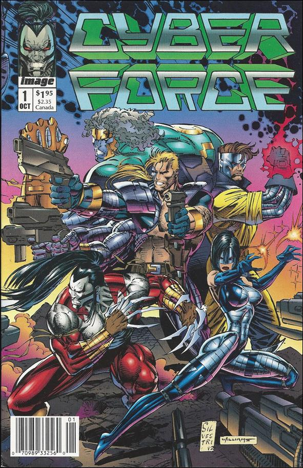 Cyberforce (1992) 1-B by Image