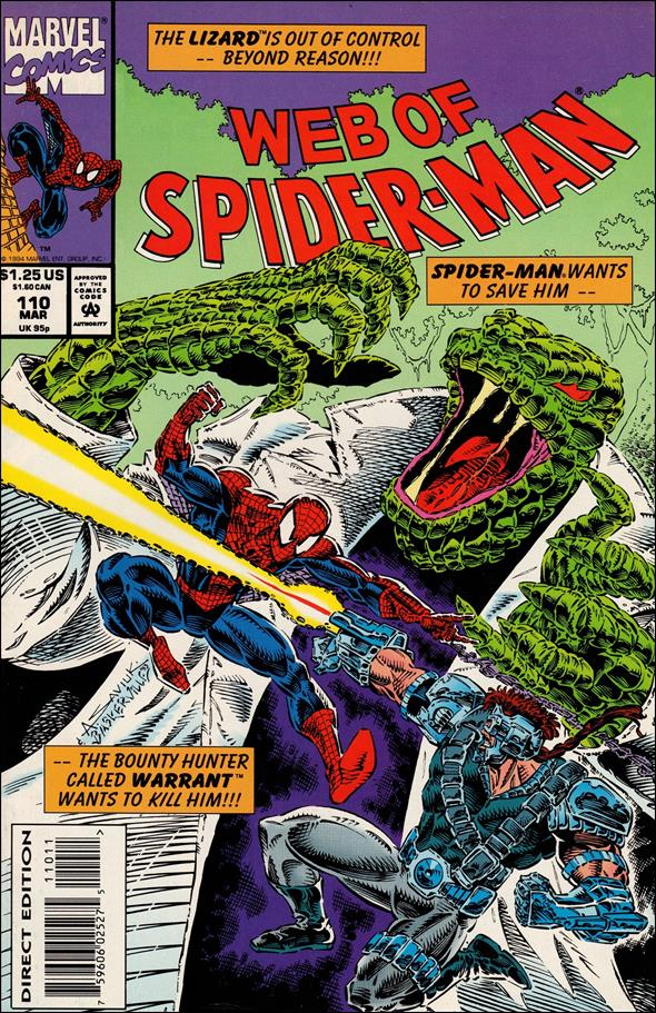 Web of Spider-Man (1985) 110-A by Marvel