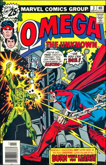 Omega: The Unknown (1976) 3-A by Marvel