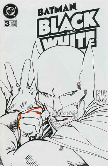 Batman Black and White 3-A by DC