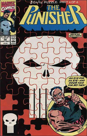 Punisher (1987) 38-A by Marvel