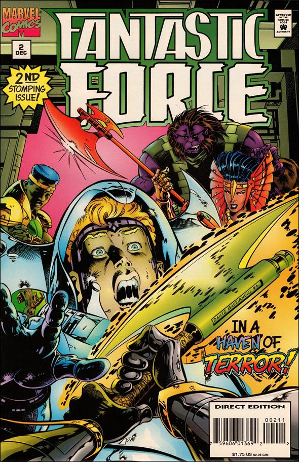 Fantastic Force (1994) 2-A by Marvel