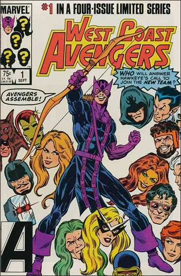 West Coast Avengers (1984) 1-A by Marvel